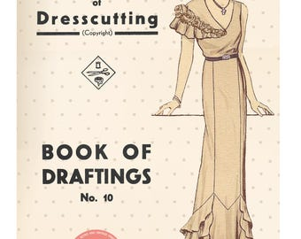 The Haslam System of Dresscutting No. 7 1936-7 Coronation Edition - PDF Booklet Instant Download