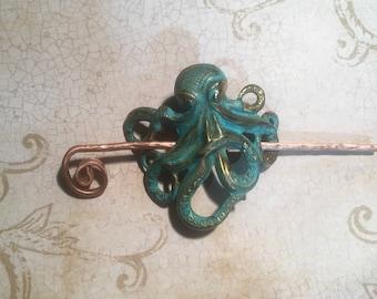 Steampunk Octopus Hair Tie