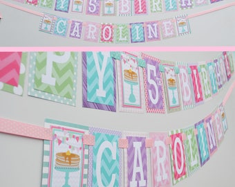 Pancakes and Pajamas Birthday Party Banner Decorations Fully Assembled | Pancake Breakfast Party | Sleepover Party | Sleepover Birthday |