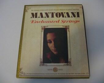 SALE! - Vintage 1960's - Mantovani - Enchanted Strings   (8-Tracks)