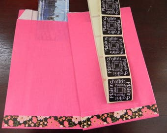 10 decorated 12 x 20 gift bags + stickers