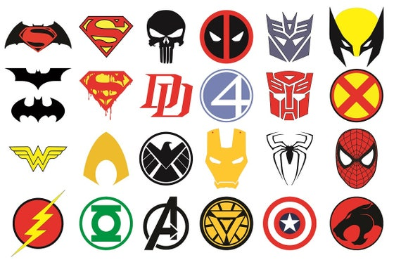 superhero logos melo in tandem co