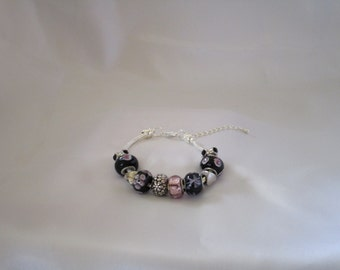 Black and Pink Charm