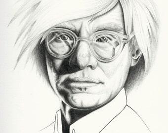 Andy Warhol Portrait