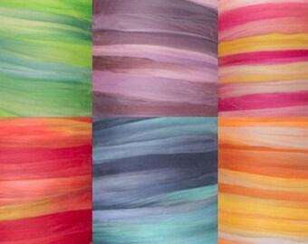 Tempera Collection - 4.5 Ounces 19 Micron Merino Tempera Wool