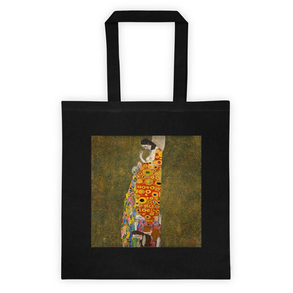Gustav Klimt Hope II Einkaufstasche