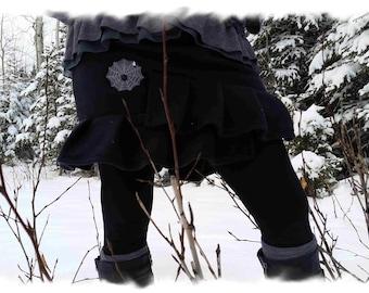 The Ruffle Me Polar Fleece Skirt