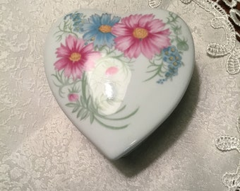 Heart Shaped Covered Dish by Elizabeth Arden