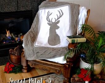 Deerly Beloved Blanket Crochet Pattern