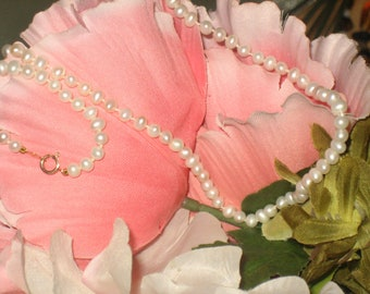 CLEARANCE Ivory Vintage Pearl Strand, Ivory, Wedding, Excellent Condition