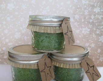 Peppermint Sugar Scrub, Party Favors, Wedding shower, Bridesmaid gifts