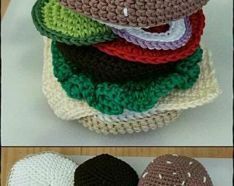Crochet Burger