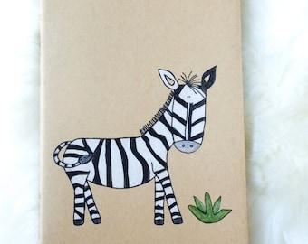 Zebra Jungle Animal Journal