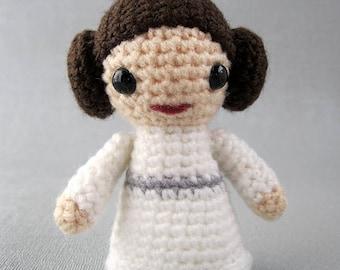 Amigurumi Princess Leia