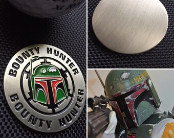 Golf Ball Marker Star Wars Boba Fett handmade orignal