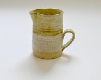 Vintage Studio Pottery Jug Pitcher