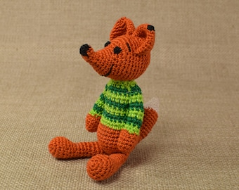Crochet Fox, Amigurumi Fox, Stuffed Fox, Soft Toy Fox, Plush Fox, Crochet Animal Toy