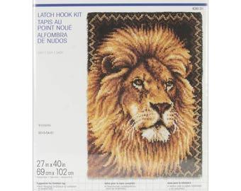 Lion Latch Hook Kit (Pre-Order)