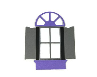 Window Die Cuts to Make 4 Windows
