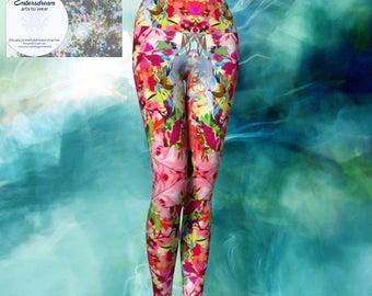 Technicolour Queen- yoga pants