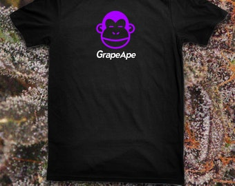 Strain Tees: Grape Ape Weed T Shirt