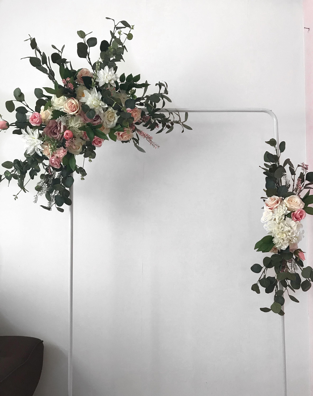 Wedding arch, Flower arch, Farmhouse decor, Boho Decor, Wedding ...