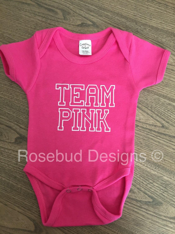 Team rosa Geschlecht offenbaren Partei Body.