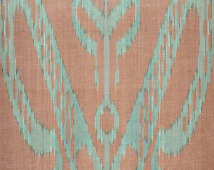 Sale! Ikat Fabric, Ikat Fabric by the yard, Hand Woven Fabric , A431-20