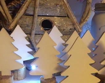 Christmas Tree Decorations Set of 5