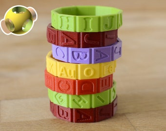 7 Ring Custom Outer Ring Set - Outer Rings only for Cryptex
