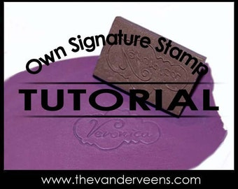 Technique (FREE CARVE - How to make Own Signature Stamp (E-book) Tutorial) by Veronica Jeong