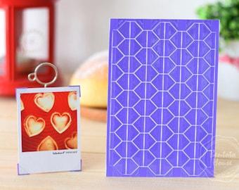 3 Sheets 306pcs,Purple PVC Photo Corners Stickers, Scrapbooking Embellishment, Journal Stickers, Photo Album, Diary Deco, Self-Adhesive