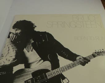Bruce Springsteen vinyl LP Born to Run