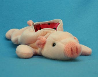 Upcycled Pig Coin Purse