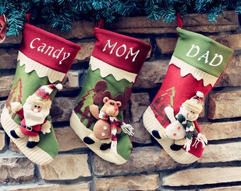 Personalized Christmas Stockings Personalized Stockings Christmas Stockings Monogram Stockings Christmas Stocking