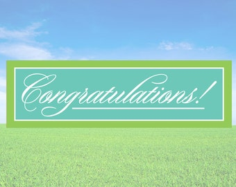 Congratulations - Business Office Store Front Banners