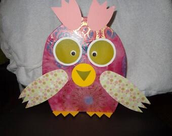 Birthstone girl night owl gift