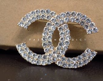 Showstopper Crystal Rhinestone Brooch/Pin
