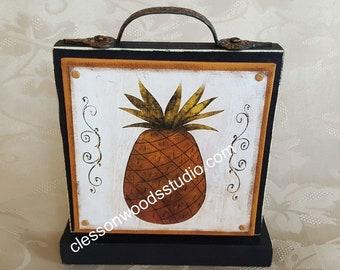 Prim Pineapple Block of the Month SET