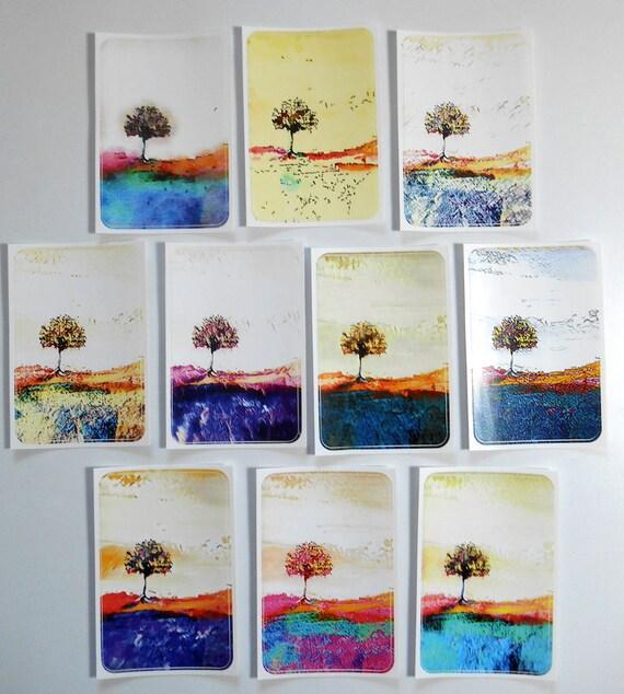 NEW *** Abundance - Large Fine Art Stickers