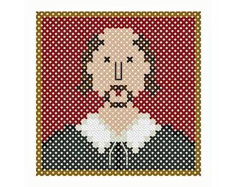 Shakespeare Miniature - Original Cross Stitch Chart
