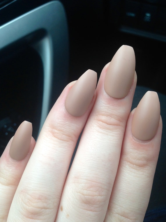 matte nails coffin nails nude nails