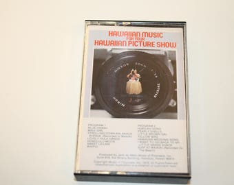 1978 Hawaiian Music for your Hawaiian Picture Show Cassette tape
