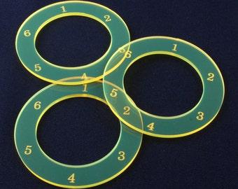 "3 pack of 3"" AOE Circle"