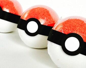 Kids Pokemon surprise toy inside bath bomb