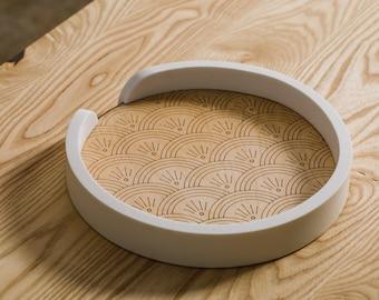 Traverse Tray – Fan Deco // Decorative Tray