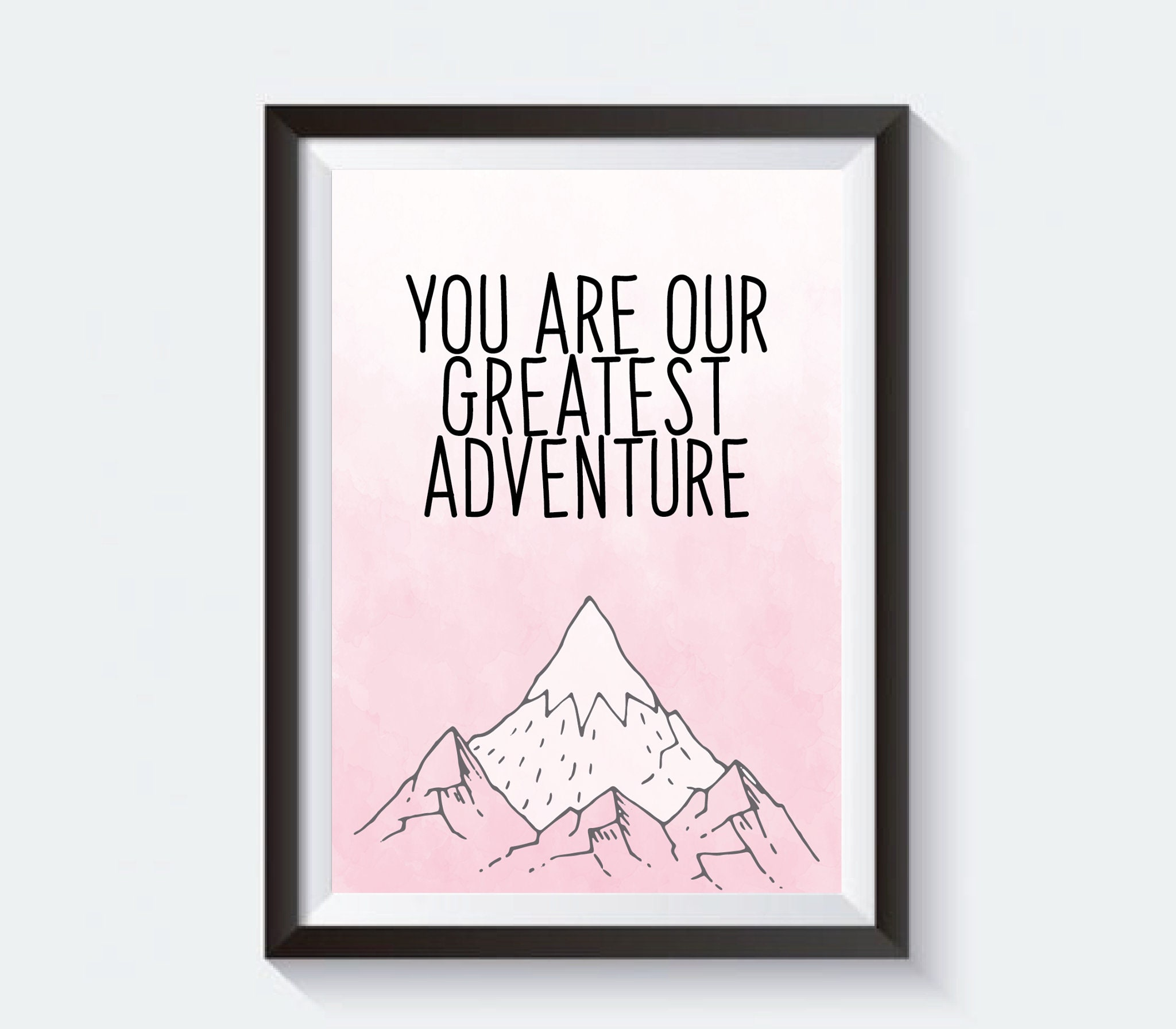 Greatest Adventure Nursery Prints, Nursery Wall Art, Nursery Decor, Nursery