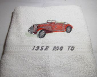 TOWEL EMBROIDERED 50 X 100