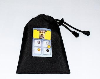 Snowdonia Board Game Accessory cube draw bag