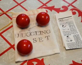 Wooden Juggling Set